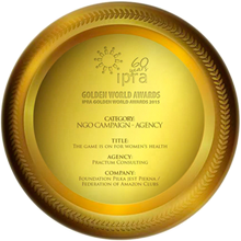 Nagroda IPRA Golden World Award for Excellence 2015 dla Practum Consulting